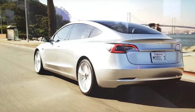 Neues Model 3-Werbevideo ist gar nicht neu, dennoch schön anzusehen