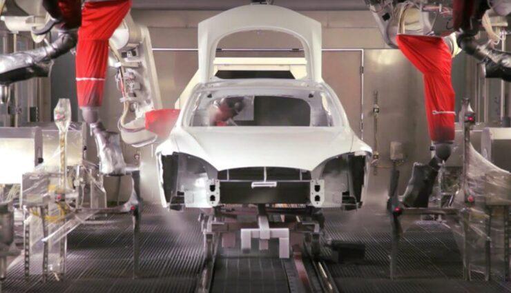 Tesla wird Produktion in Fremont pausieren, um Lackiererei für das Model 3 auszurüsten