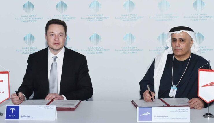 Dubai Taxi Corporation erhält 200 Tesla-Fahrzeuge