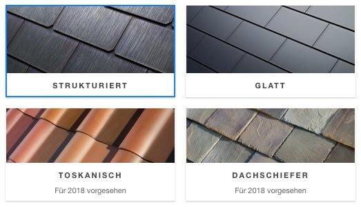 Glatter dachziegel  Tesla Solar-Dachziegel können ab sofort vorbestellt werden ...