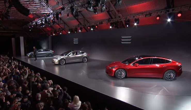 Model 3 VIP-Event im Juni: Fahrzeug wird Prototyp aus dem 1. Enthüllungsevent sein