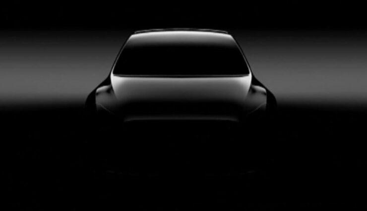 Tesla Model Y: Erstes Teaser-Bild veröffentlicht