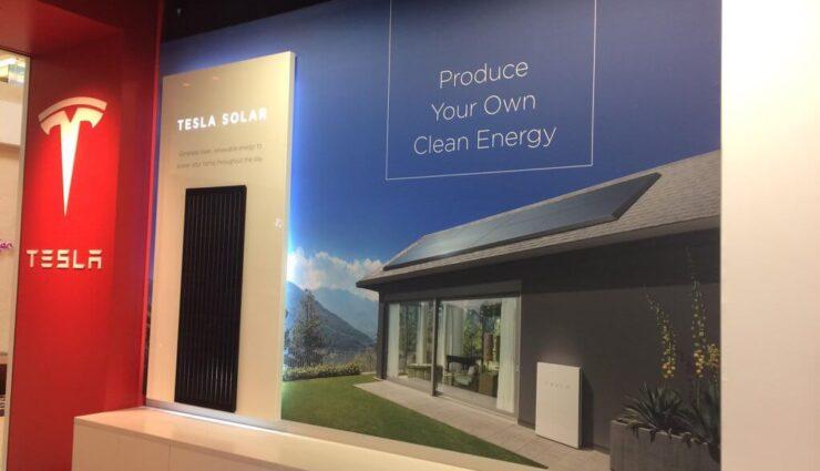 USA: Tesla Solar wird nun ebenfalls in den firmeneigenen Stores präsentiert