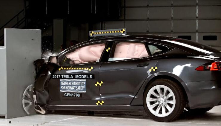 IIHS-Crashtest: Auch zweiter Test bringt Tesla Model S keine Top-Wertung ein