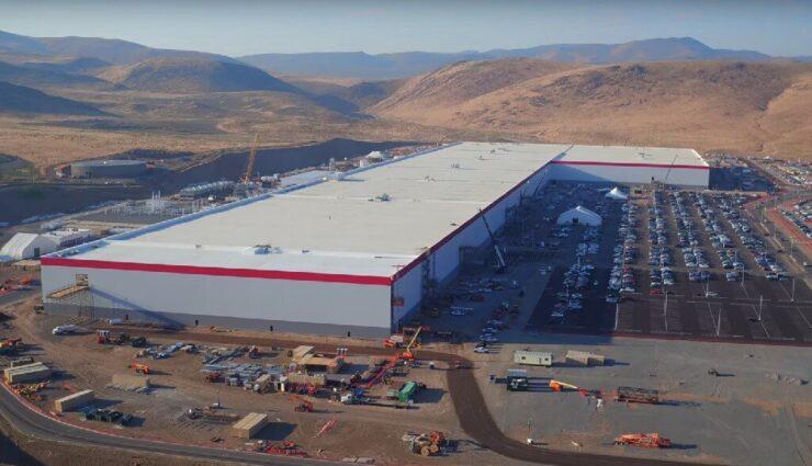 Tesla Gigafactory: Neues Drohnen-Video zeigt aktuellen Fortschritt