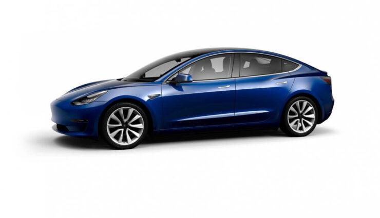 Tesla implementiert das Model 3 bereits in den Online-Konfigurator