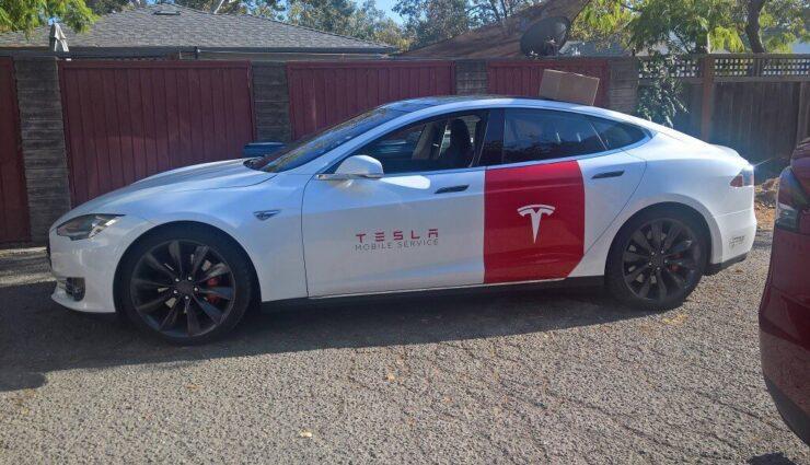 Neue Informationen zum Tesla-Service, u.a. Servicefahrzeuge auf Model S/X-Basis