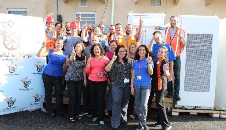 Puerto Rico: Tesla realisiert erstes Solar- und Stromspeicherprojekt an einem Kinderkrankenhaus