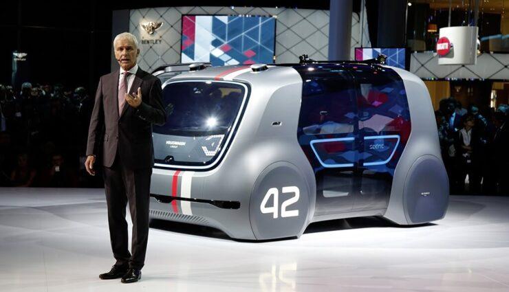 VW-Chef Matthias Müller zu Tesla: Nicht Äpfel mit Birnen vergleichen