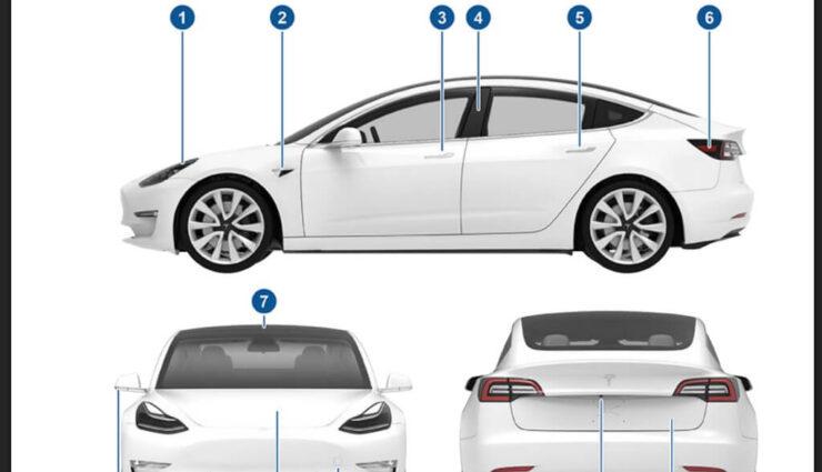 Tesla Model 3: Offizielles Benutzerhandbuch veröffentlicht