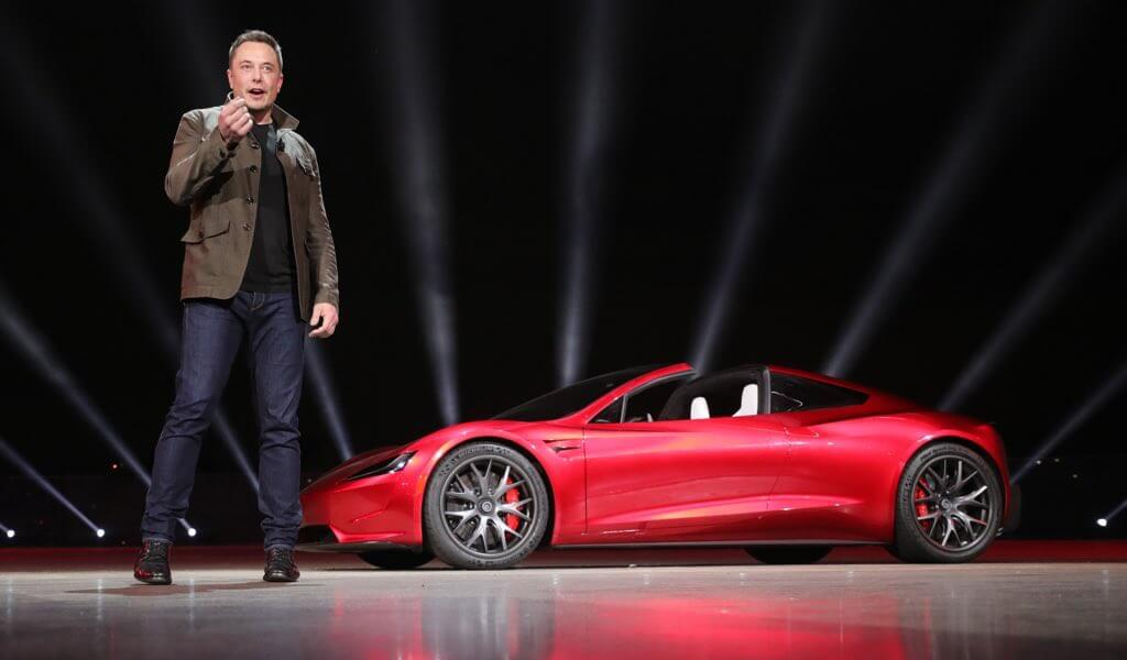 Musk says Tesla car will fly on first Falcon Heavy launch ...