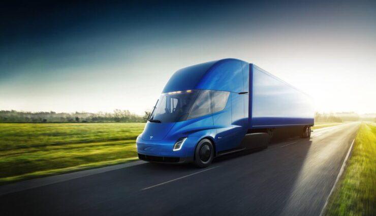 Auch DHL hat zehn Tesla Semi Trucks vorbestellt