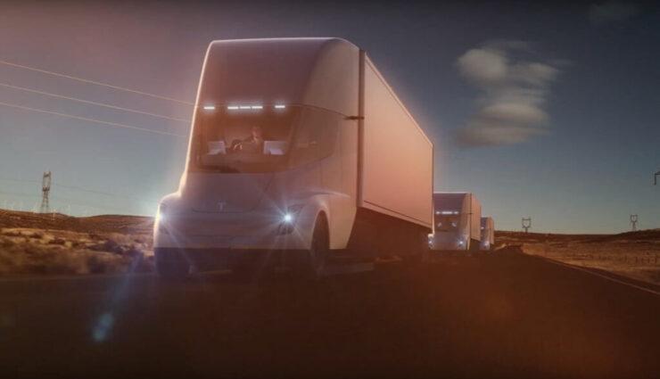 Größte öffentliche Vorbestellung: PepsiCo bestellt 100 Tesla Semi Trucks vor