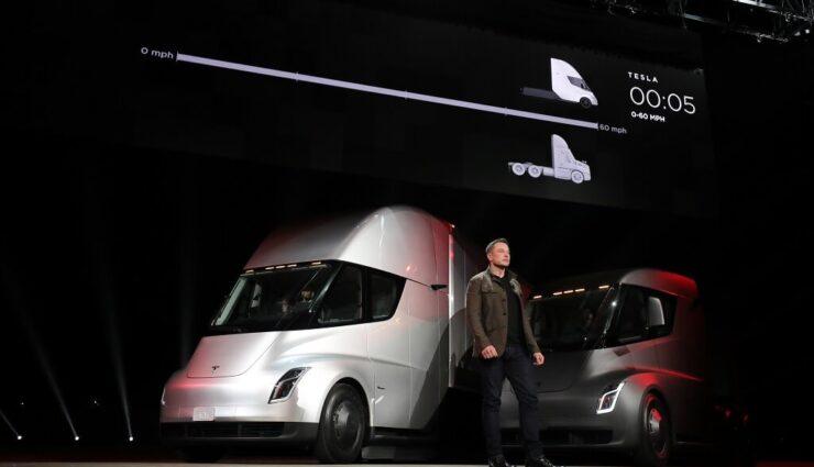 UPS ordert 125 Tesla Semi Trucks