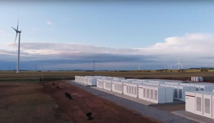 Australien erhält zweites großes Batteriespeicherprojekt mit Tesla Powerpacks