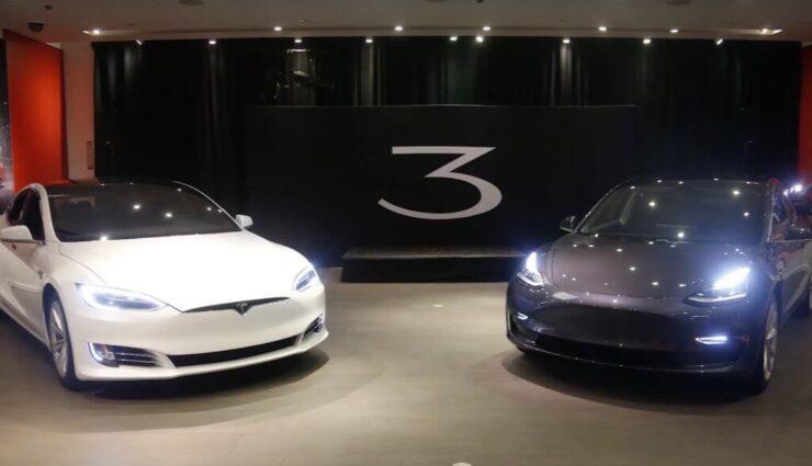 Kalifornien: Ersten beiden Tesla-Stores erhalten Model 3-Ausstellungsfahrzeuge