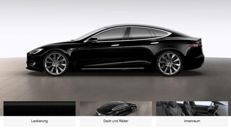 "Tesla Model S: Neue 21-Zoll-Felgen ""Sonic Carbon Twin Turbine"" verfügbar"