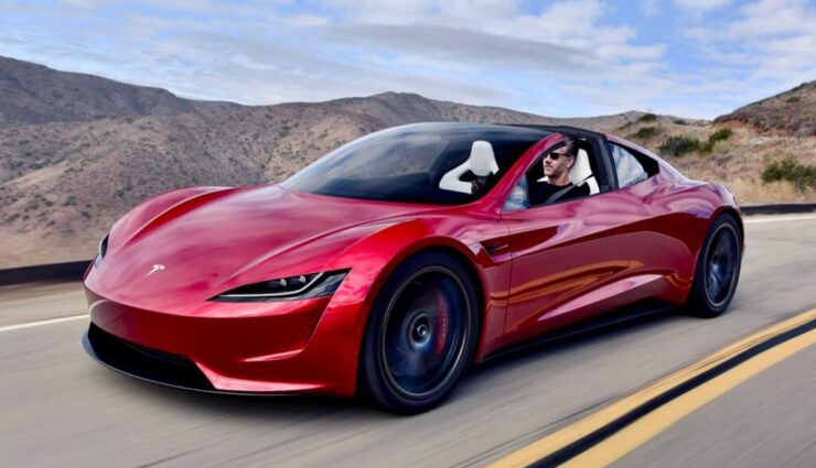 Roadster: Tesla Chef-Designer erlebt nach Fotoshooting eine Autopanne