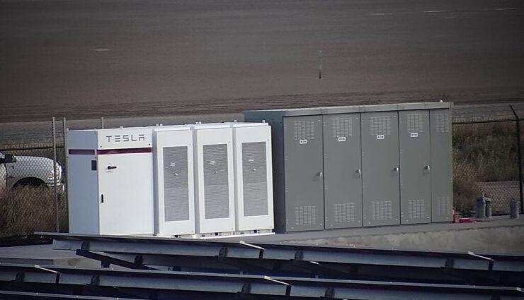 Solaranlage und Powerpacks wurden an neuem SpaceX-Raketenstartplatz in Texas installiert