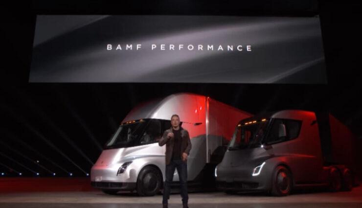 Tesla Semi: Elon Musk optimistisch, dass man angekündigte Spezifikationen sogar übertreffen kann
