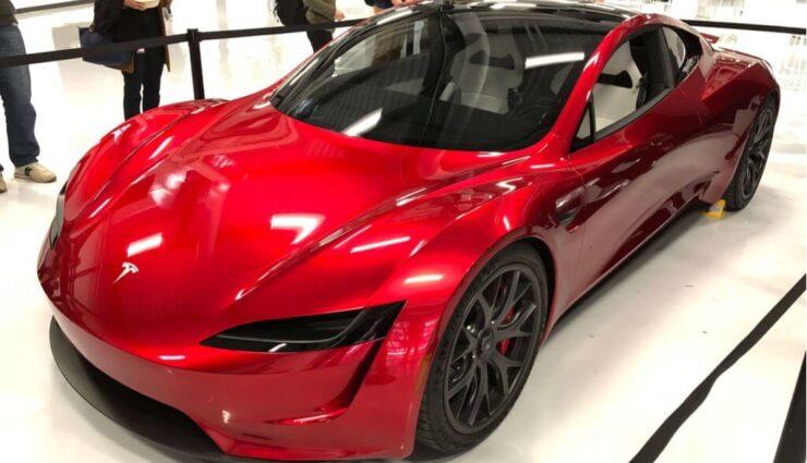 Tesla-Mitarbeiter veröffentlicht neue Bilder vom kommenden Tesla Roadster