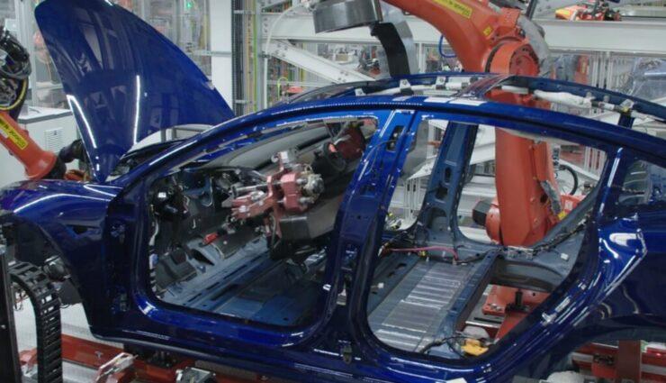Tesla setzte Ende Februar Model 3-Produktion für vier Tage aus, um Automatisierung zu verbessern