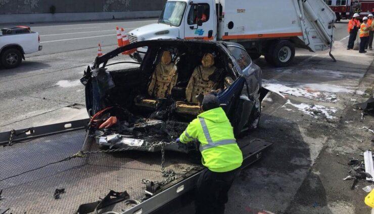 Autopilot war beim tödlichen Unfall im Model X eingeschaltet, sagt Tesla