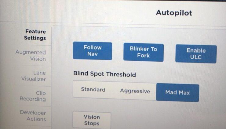 """Autopilot-Entwicklungsumgebung verfügt über """"Mad Max""""-Überholmanöver"""