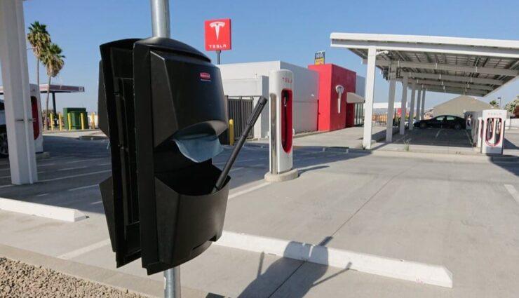 Einzelne Supercharger-Standorte ab sofort auch mit Fensterwischer ausgestattet