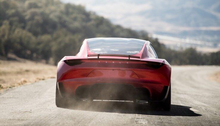 Tesla Roadster: SpaceX-Optionspaket wird Raketentriebwerke enthalten