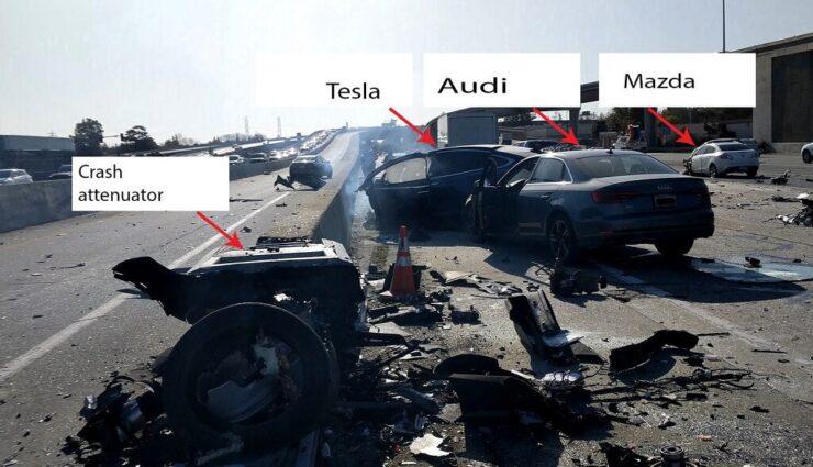 NTSB veröffentlicht Vorbericht zum tödlichen Unfall im Model X mit eingeschaltetem Autopilot