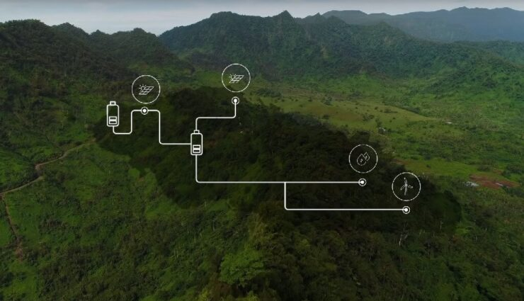 Tesla installiert zwei neue Microgrid-Projekte mit insgesamt 13,6 MWh Kapazität in Samoa