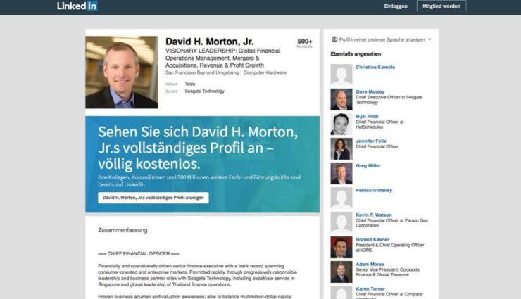 Neuer Chief Accounting Officer kommt von Seagate Technology