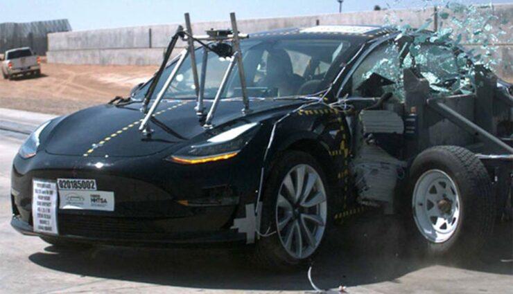 Tesla: Model 3 laut Crashtests der NHTSA der sicherste Pkw auf der Straße