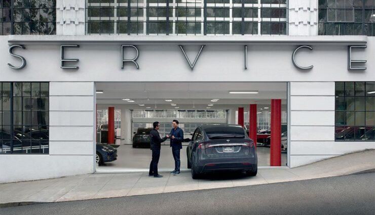 Tesla-Servicecenter
