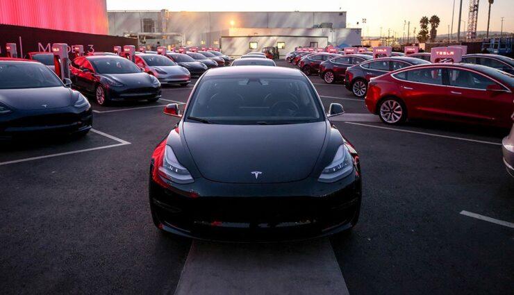 Tesla: Model 3 zuletzt umsatzstärkster Pkw in den USA