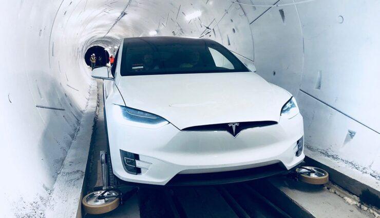 Tesla-Model-X-Boring-Company