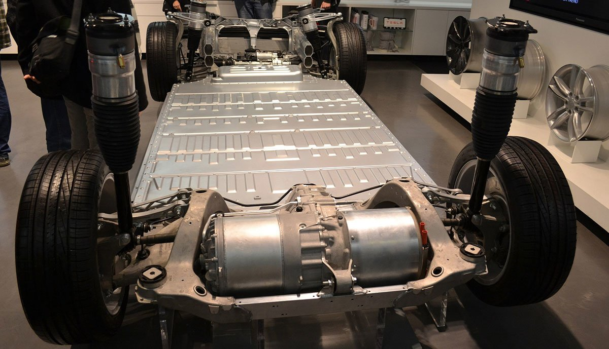 Tesla-Model-S-Batterie