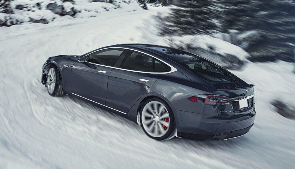 Tesla-Reichweite-Winter