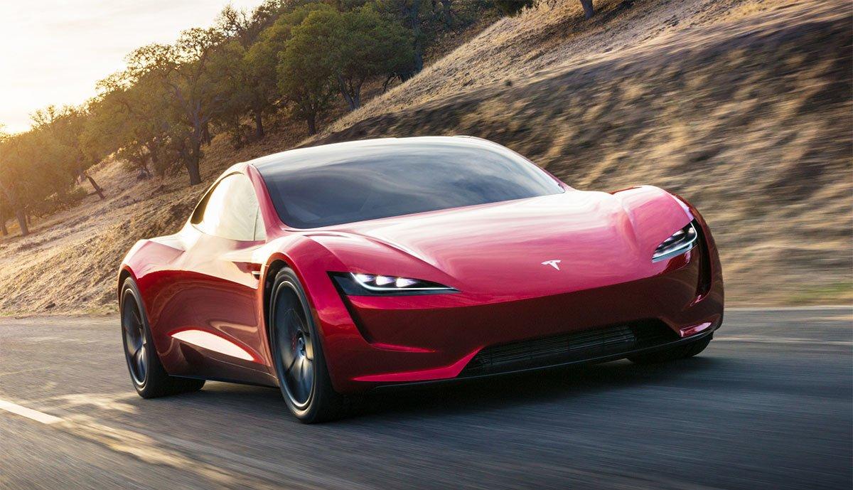 Tesla-Roadster-Beschleunigung