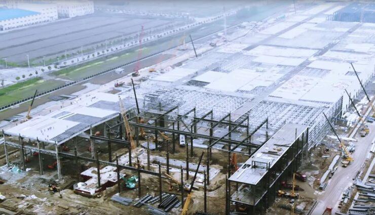 Tesla-Gigafactory-3-China-Video