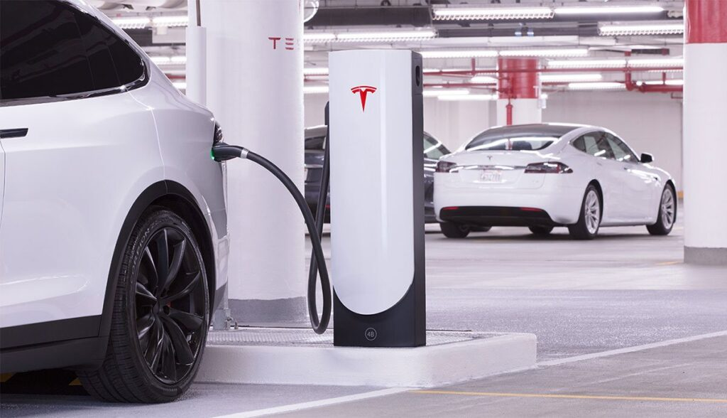 Tesla-Supercharger-Aktion