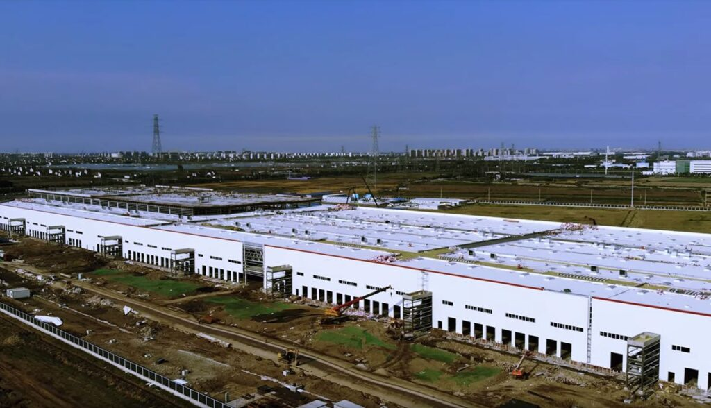 Tesla-Gigafactory-China-Video