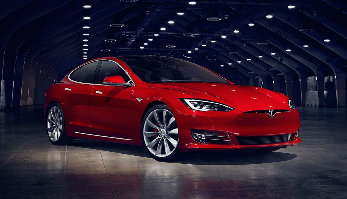 2020 Tesla Model S Spy Shoot