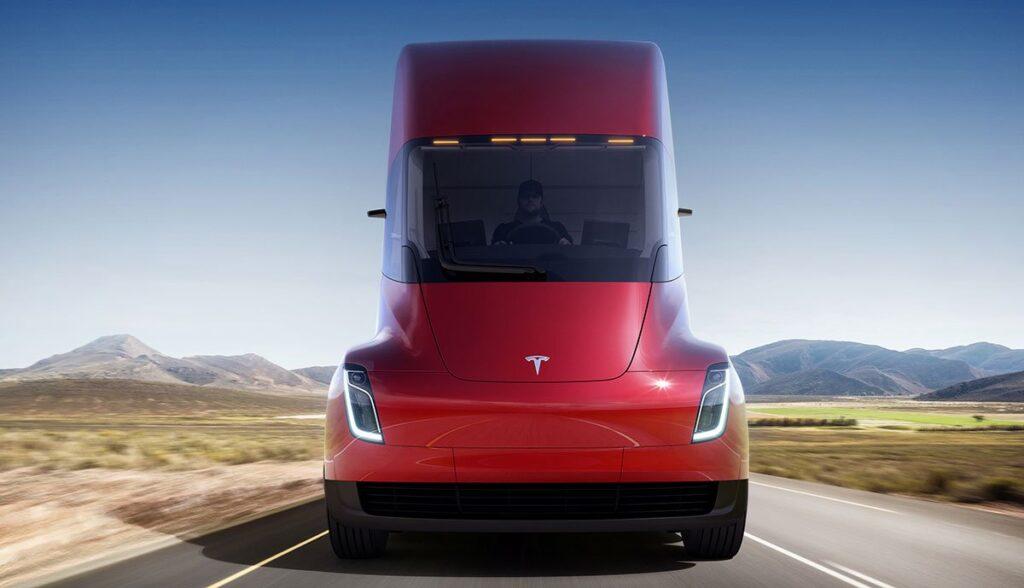 Tesla-Semi-Frunk
