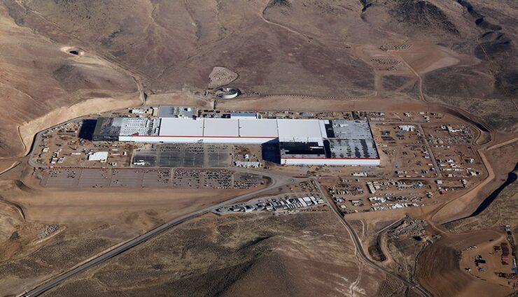 Tesla-Batterie-Produktion