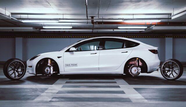 Tesla-Model-3-Tieferlegung-Reichweite