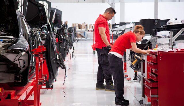 Tesla-Produktion