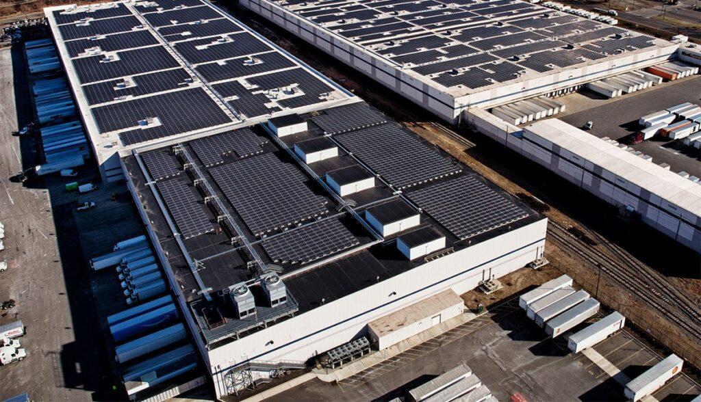 Tesla-Amazon-Solar