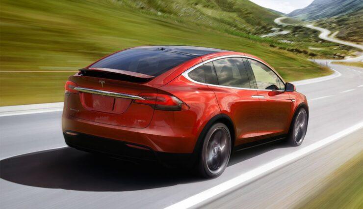 Tesla-Elektroautos